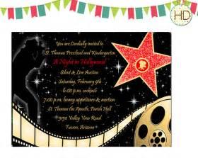 hollywood party invitation ideas cloudinvitation com