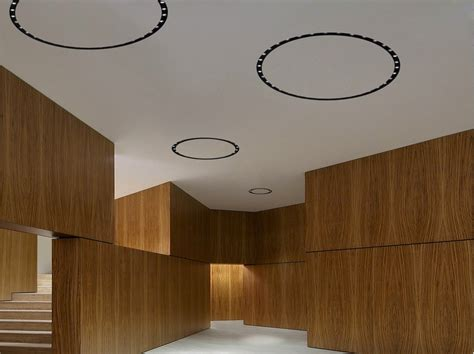 flos bathroom light built in led module circle of light professional wall
