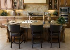 Kitchen Island With 4 Stools by Setting Up A Kitchen Island With Seating