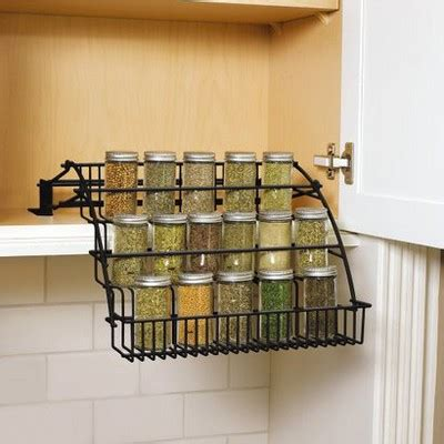 Rubbermaid Pull Cabinet Spice Rack by Rubbermaid Pull Spice Rack Black Target