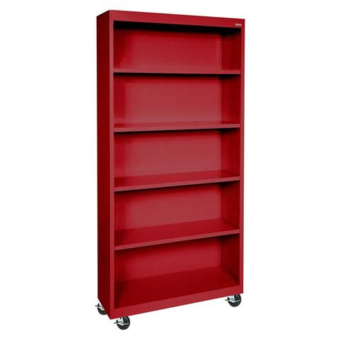 sandusky mobile steel bookcase bm40361872 01 the