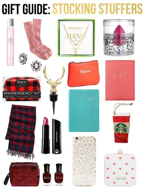 stocking stuffers for her life with emily gift guide stocking stuffers for her