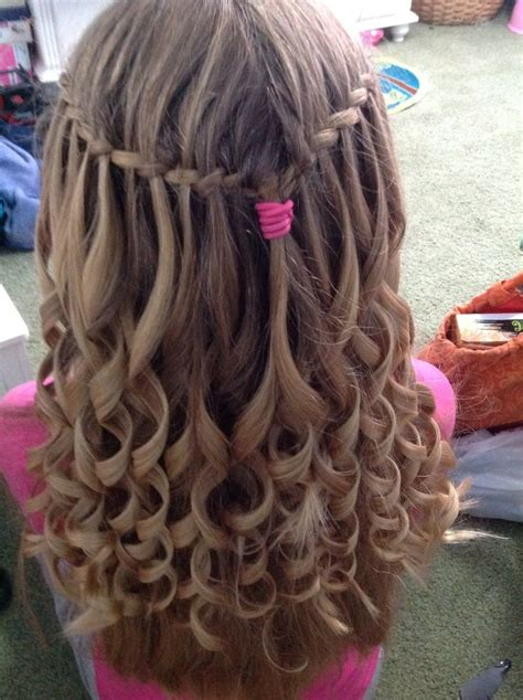 feathers braids pictures feather braid with curls hair styles pinterest