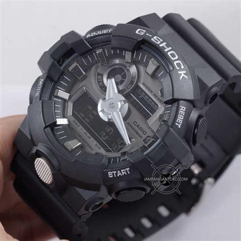 Gshock Barang Display gambar g shock ori bm ga 710 1a black silver on