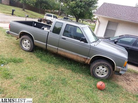 91 gmc sonoma armslist for sale 91 gmc sonoma 4x4 v6 will trade for guns