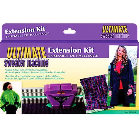 ultimate knitting machine caron ultimate knitting machine extension kit walmart