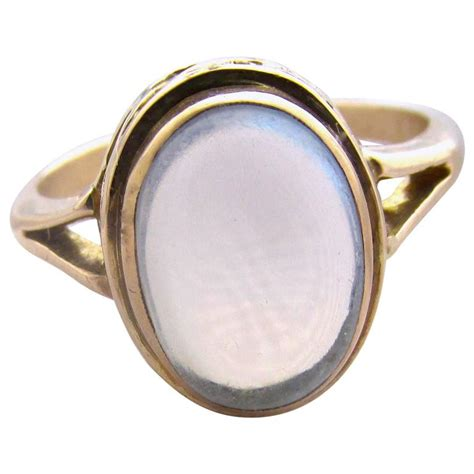 antique moonstone gold ring at 1stdibs