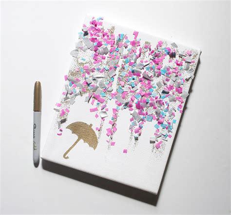 canvas crafts diy craftaholics anonymous 174 craft confetti canvas
