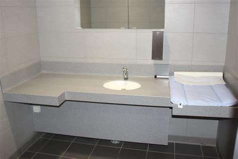 table a langer pour salle de bain conceptions de