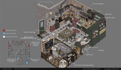3d layout artist portfolio dylan collins 3d environment artist
