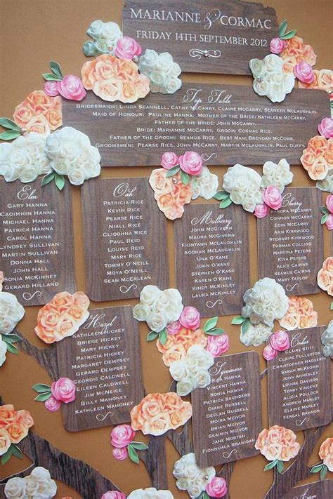 tree seating plan photo of the day bridalguide