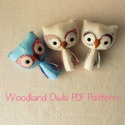 felt owl pattern pinterest felt owls toys pinterest patterns christmas