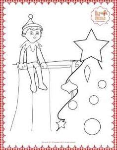 elf size coloring page elf mischief on pinterest coloring pages shelves and