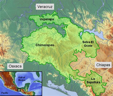 geography of mexico wikipedia selva zoque wikipedia
