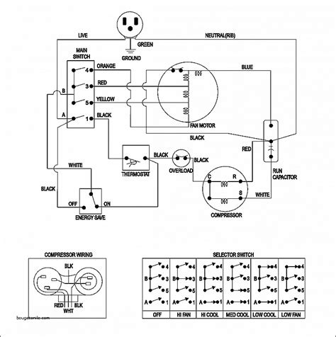central air conditioning compressor wiring diagram k