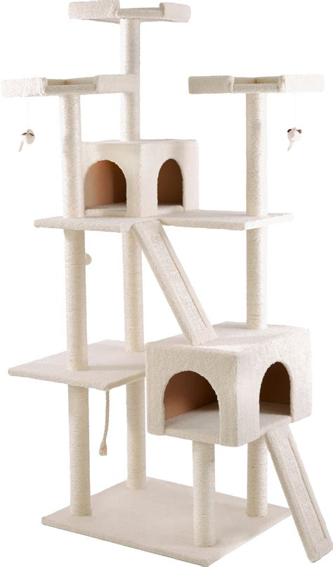 cat tree frisco 72 in cat tree large base chewy