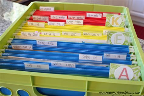 Over 20 ways to organize your home and life!   The Sunny