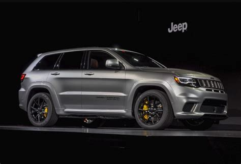 2018 jeep grand cherokee hellcat hellcat powered 2018 jeep grand cherokee trackhawk arrives