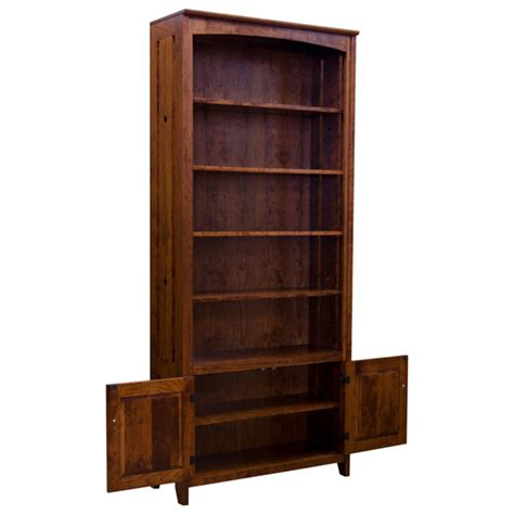 bookcase 36 x 84 36 quot x 84 quot amish mission tempe bookcase barn furniture