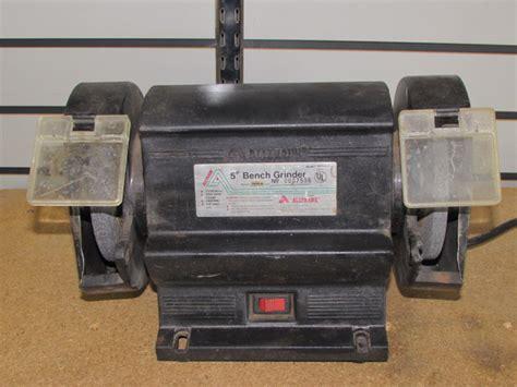 alltrade bench grinder lot detail alltrade 5 quot bench grinder