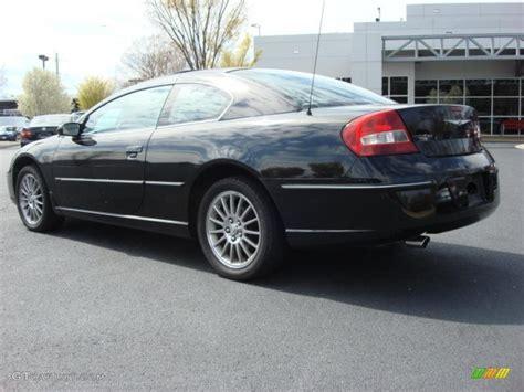 2005 chrysler sebring limited brilliant black 2005 chrysler sebring limited coupe