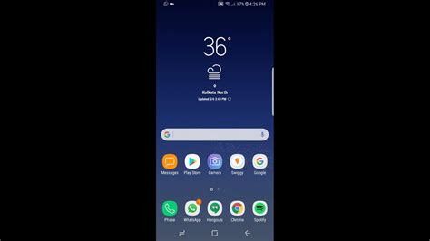 0 samsung s8 samsung galaxy s8 software features android 7 0 samsung experience version 8 1