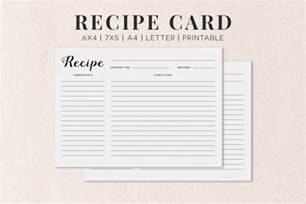 free recipe cards template free cooking recipe card template rc1 creativetacos