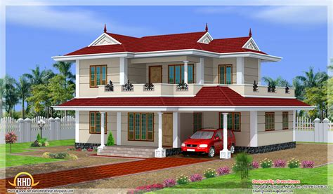 top home plans bhk double storey house design kerala home floor plans
