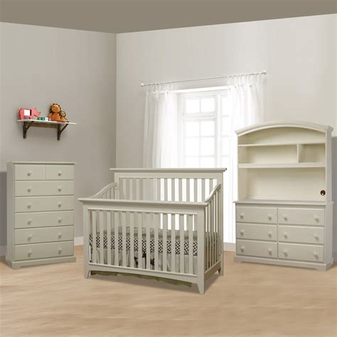White Crib Furniture Sets by White Crib Sets Baby Crib Sets With Wooden Colors White
