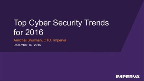 top cyber security trends for 2016