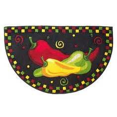 Chili Pepper Kitchen Rugs 1000 Images About Chili Peppers On Chili Wall Clock Decor And Ceiling Fan Pull Chain
