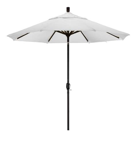 Black And White Patio Umbrella Umbrella Stand Patio Umbrella California Umbrella 9 Aluminum Push Button Tilt Market