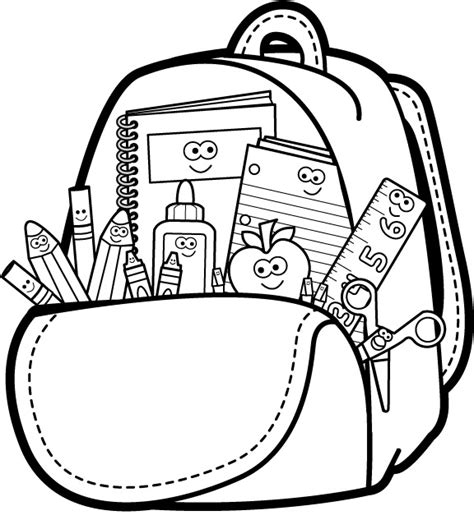 school clipart black and white free school black and white clipart