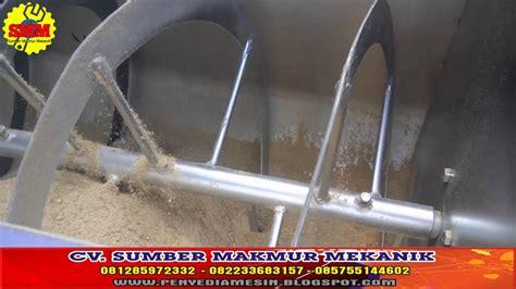 Mixer Pakan Ternak ribbon mixer mesin mixer horizontal pengaduk bahan