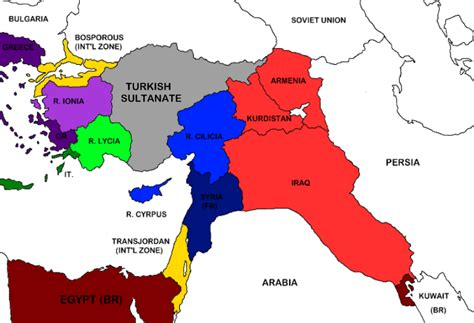 what side did the ottoman empire join in ww1 mof 9 alternate partition of the ottoman empire