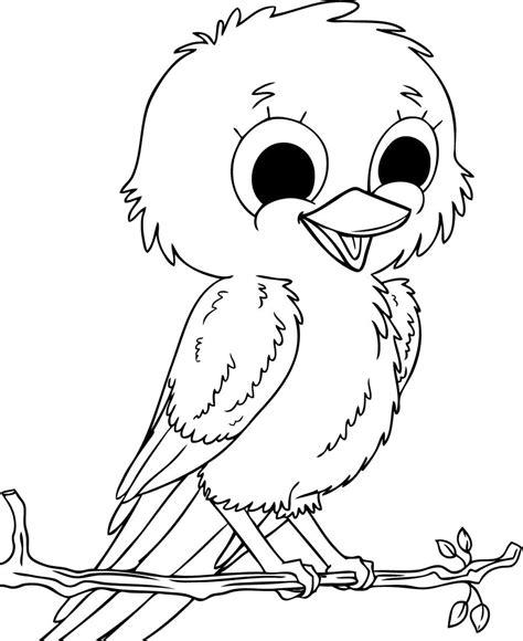 free coloring pages of baby birds dibujos de p 225 jaros para pintar dibujos de p 225 jaros