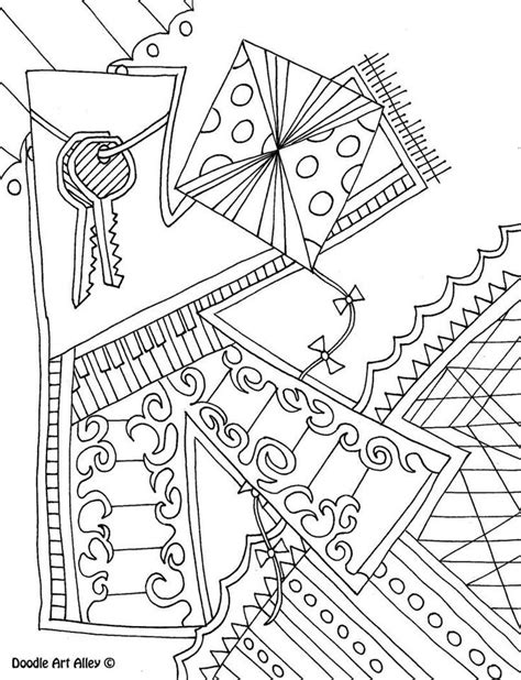Doodle Alley Coloring Pages Coloring Home