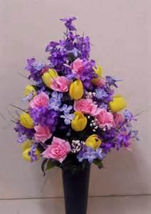mosaic of memories square easel wreath flowers flower