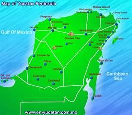 map of mexico yucatan region things to do in the yucatan peninsula mexico to travel