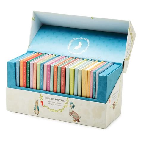 the world of rabbit the complete 23 book box set collection beatrix potter