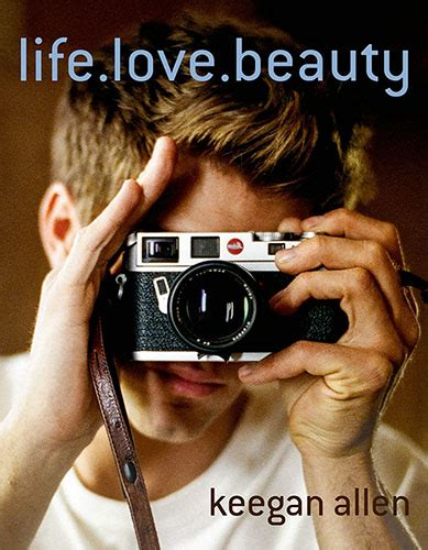 actor photo book actor keegan allen is a photography buff who just