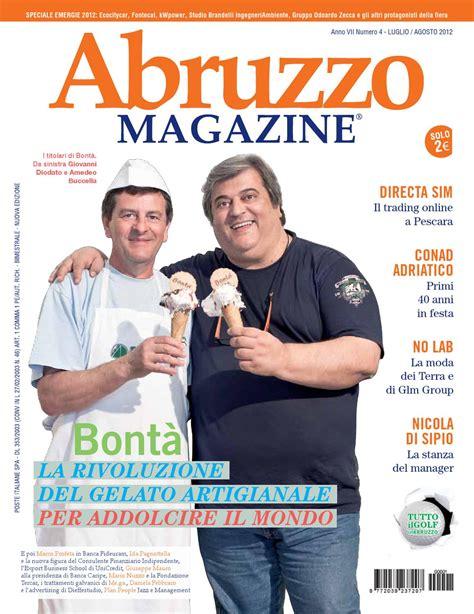 fideuram pescara abruzzo magazine luglio agosto 2012 by abruzzo magazine
