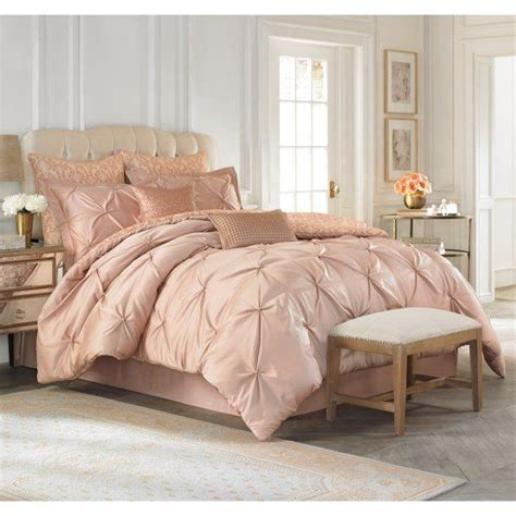 rose gold bed comforter vince camuto and rose gold on pinterest
