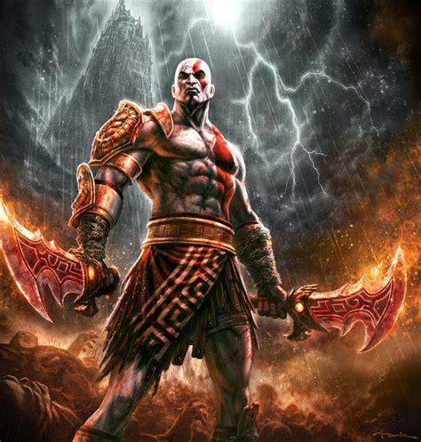gods of war god of war iii kratos by andyparkart on deviantart