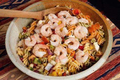 65 g carbohydrates marinated shrimp pasta salad northwest kidney centers