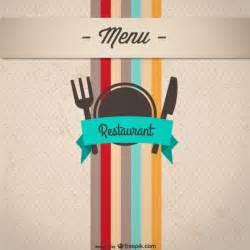 menu cover template menu cover design vector material vector free