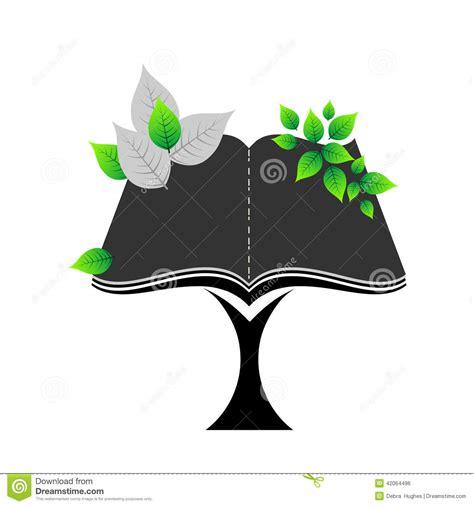 libro rboles trees aprender icono del libro del 225 rbol ilustraci 243 n del vector imagen de dise 241 o 42064496
