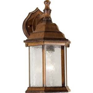 rustic outdoor wall lights shop 12 in h rustic outdoor wall light at lowes