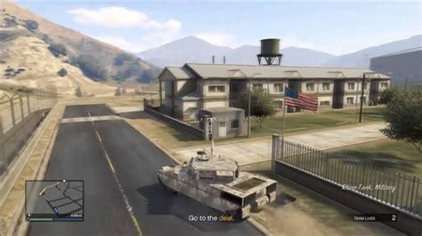 enter military base  gta     stars