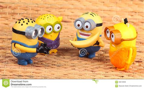 Minion Happy Meal Mcdonald Cards minions editorial stock photo image of figure